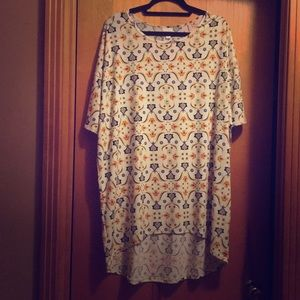 Women's size XL LuLaRoe floral Carly Dress